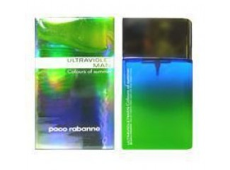 Ultraviolet Colours of Summer Man