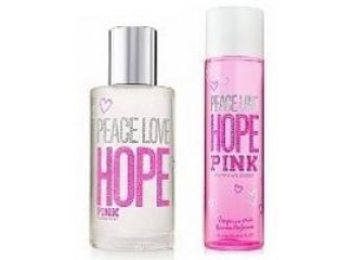 Hope Pink Peace Love