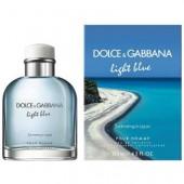 D&G Light Blue Swimming in Lipari